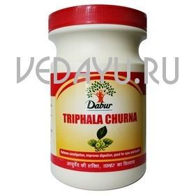 трифала чурна (triphala churna) дабур, 120 г. индия